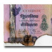 ธนบัตรชำรุด