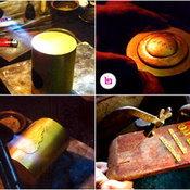 ขั้นตอนการทำกระปุกออมสินทองคำ---