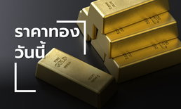 ราคาทองวันนี้ ขยับเพิ่มขึ้น 50 บาท อีกเฮือกเดียวทองรูปพรรณขายออกบาทละ 21,900 บาท
