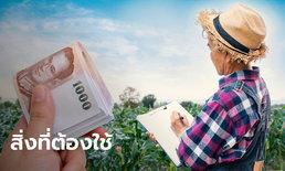 เช็กสิทธิ์เยียวยาเกษตรกร รับ 15,000 บาท เกษตรกรที่ตกหล่นต้องเตรียมอะไรบ้างก่อนยื่นอุทธรณ์