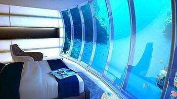 หรูมาก! โรงแรมใต้น้ำ คืนละ 5 แสน