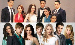 เทียบภาพตัวละคร Gossip girl Thailand กับเวอร์ชั่นต้นฉบับ