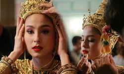 """เป๊ะปังเว่อร์! ขวัญ-อุษามณี เฉิดฉายในชุดไทยเป็นนางรำ """"มายา"""""""