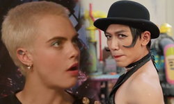 คาร่า ยังอึ้ง! ป๋อมแป๋ม แต่งเป็น รีฮานน่า ไปสัมภาษณ์ผู้กำกับและนักแสดง Valerian
