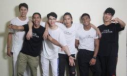 แสบซนซ่า! หนุ่มๆ The Face Men Thailand #TeamPeach ใน เรียงคิวบันเทิง