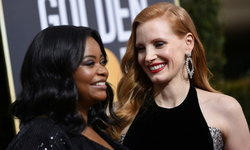 นักแสดงฮอลลีวู้ดแห่แต่งชุดดำในงานลูกโลกทองคำ หนุนแคมเปญต่อต้านการล่วงละเมิดทางเพศ