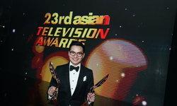 """""""เอ วราวุธ"""" คว้ารางวัล ASIAN TELEVISION AWARDS 2 ปีซ้อน"""