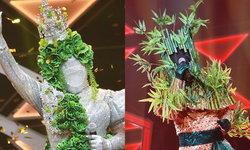 """""""จอกแหน"""" คว้าแชมป์ไม้จัตวา กระชากหน้ากาก """"กอไผ่"""" เสียงที่จำไม่ได้ก็แปลก! The Mask Line Thai"""