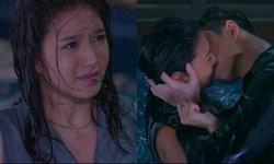 """ดุเดือด! """"ต่อ-เฟิร์น"""" ตบมาจูบกลับ กลางสระว่ายน้ำ """"หัวใจศิลา"""""""