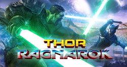 แฟนอาร์ตตัดต่อ Thor ปะทะ Hulk ด้วยดาบไลท์เซเบอร์ใน Thor Ragnarok