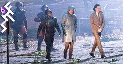 ภาพแรกจากกองถ่ายซีรีส์ Loki เมื่อ Tom Hiddleston สวมเครื่องแบบองค์กรตำรวจกาลเวลา TVA