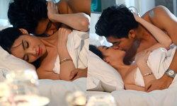 """เปิดฉากแซ่บมาก! """"มุกดา"""" กระชากจูบ """"เข้ม"""" จมเตียงใน """"โซ่เวรี"""" ตอนแรก"""