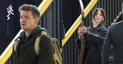 โฉมแรกของ Hailee Steinfeld และ Jeremy Renner ในซีรีส์ Hawkeye ของ Marvel