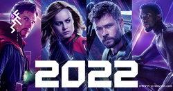 มาร์เวลจะมีหนังออกฉายในปี 2022 ถึง 5 เรื่อง และ 1 ในนั้นยังไม่เปิดเผยว่าเรื่องอะไร