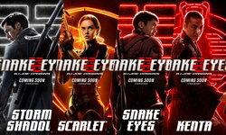 มาแล้ว! ภาพโปสเตอร์คาแรกเตอร์จาก Snake Eyes: G.I.Joe Origins