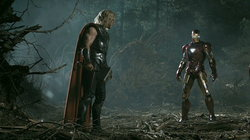 The Avengers เผยคลิปสุดมันส์! ธอร์ อัด ไอรอนแมน