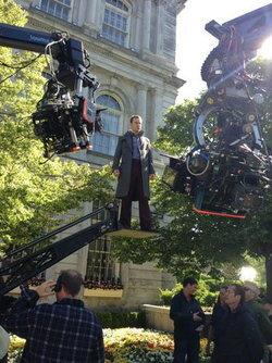 ฟาสเบนเดอร์ เข้าฉากถ่ายทำ ใน X-Men: Days of Future Past แล้ว!
