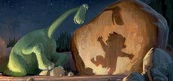 ภาพออกแบบ The Good Dinosaur อนิเมชั่นพิกซ่าร์ปี 2014