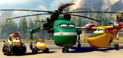 ตัวอย่างแรก Planes: Fire & Rescue ภาคต่ออนิเมชั่น Planes