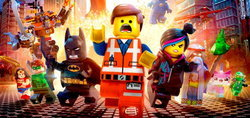 โปสเตอร์เหล่าฮีโร่ชุดใหม่จาก The LEGO Movie