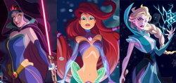 ตัวละครเจ้าหญิง Disney มาอยู่ในโลก Star Wars