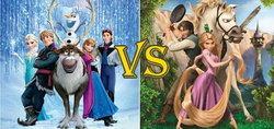 FROZEN vs TANGLED การ์ตูนดิสนี่เรื่องไหนที่จะเจ๋งกว่ากัน!!