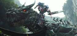 ตัวอย่าง ทรานส์ฟอร์เมอร์ส 4 Transformers : Age of Extinction