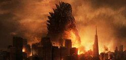 Godzilla ขี้อาย! บนภาพแรกในโปสเตอร์เปิดตัวหนัง