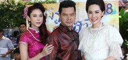 เต๋า สมชาย นำทีมบวงสรวงละครพีเรียดรสแซบ ชิงรักหักสวาท