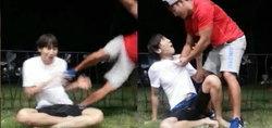 อีกวางซู เจอลูกถีบ คิมจงกุก หลังส่งต่อภารกิจ Ice Bucket Challenge