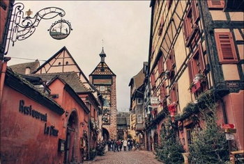 small villages in the Alsace region