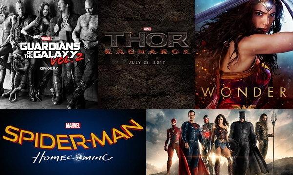 7 หนังซูเปอร์ฮีโร่ปี 2017 ที่ห้ามพลาด!