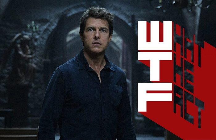 สปิริตสูง Tom Cruise 'ทุ่มเท' แสดงฉากสตั๊นท์ใน The Mummy แบบสุดตัว