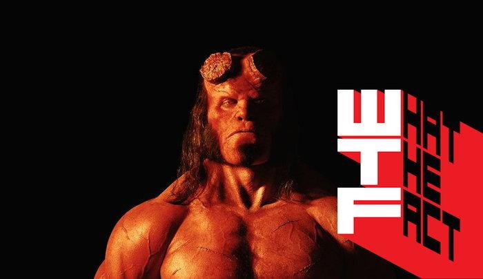 ภาพแรกของ เดวิด ฮาร์เบอร์ ผู้รับบท Hellboy เวอร์ชั่นรีบู้ท