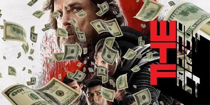 The Last Jedi ขึ้นอันดับ 19 ภาพยนตร์ทำเงินทั่วโลกสูงสุดตลอดกาล