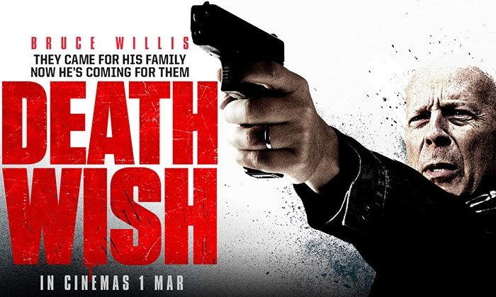 รีวิว Death Wish บรูซ วิลลิสกับศาลเตี้ยอันเป็นที่รัก