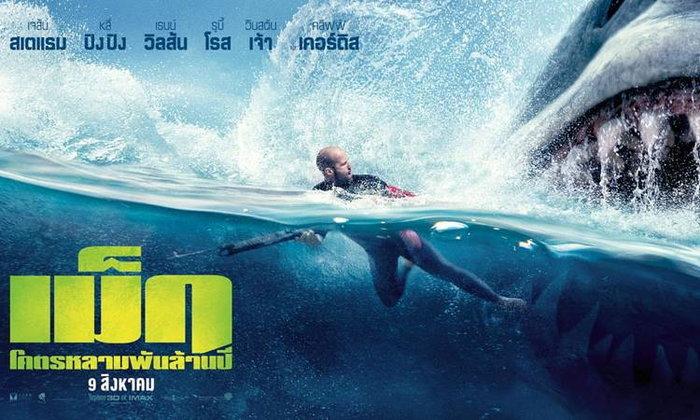รีวิว The Meg ฉลามบุกสู้ชีวิต