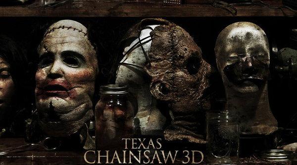 ดูหน้ากากหนังมนุษย์ ในใบปิด Texas Chainsaw 3D