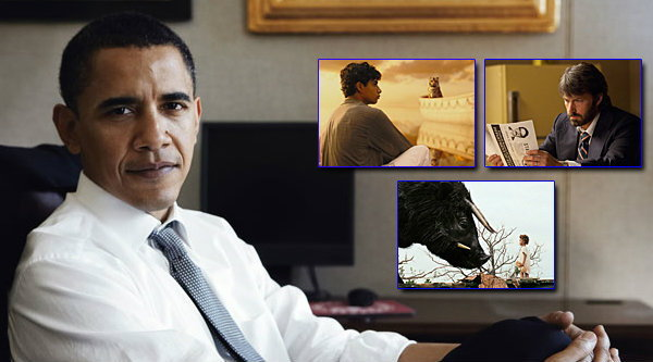 หนังโปรดปี 2012 ของประธานาธิบดีโอบามา