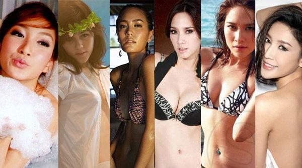 เซ็กซี่คลายร้อน! ระดับนางเอกแถวหน้าเมืองไทย