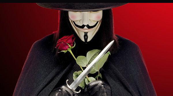 V for Vendetta โยงการเมืองในประเทศไทย