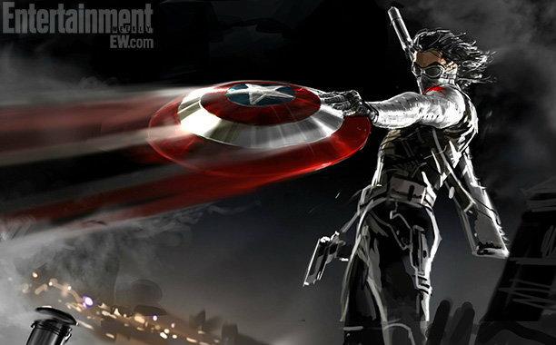 โฉมแรกของ Captain America: The Winter Soldier
