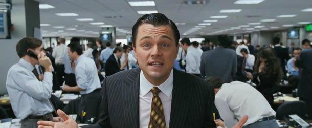 ลีโอนาร์โด ซ่าแสบกวนใน 'The Wolf of Wall Street'