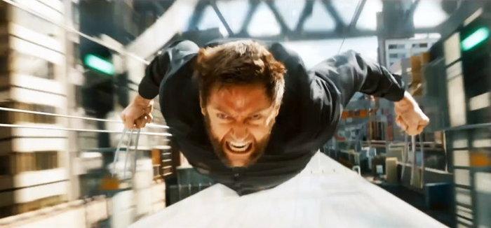 วูล์ฟเวอรีน VS ยากูซ่า บนรถไฟในคลิปแรกจาก The Wolverine