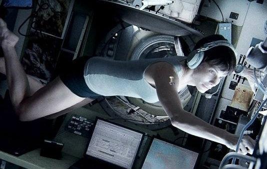 ภาพแรกของ แซนดร้า บูลล็อค ในหนังเขย่าขวัญอวกาศ Gravity