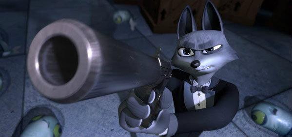 อนิเมชั่นขนาดสั้น SpyFox สายลับจิ้งจอกกู้โลก!