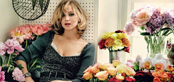 เจนนิเฟอร์ ลอว์เรนซ์ ขึ้นปก Vogue กันยายน 2013
