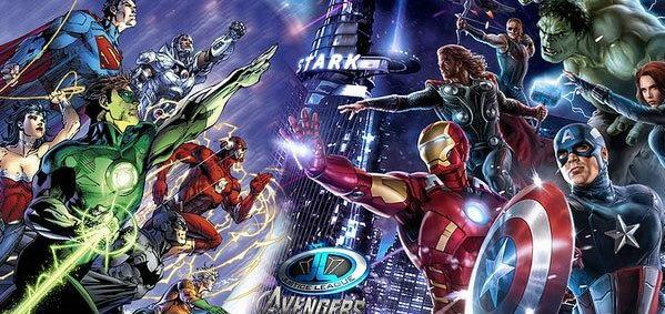 สุดยิ่งใหญ่! ตัวอย่าง Avengers VS Justice League