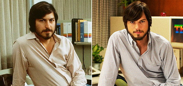 สตีฟ จ็อบส์ VS แอชตัน คุชเชอร์ ในหนัง Jobs