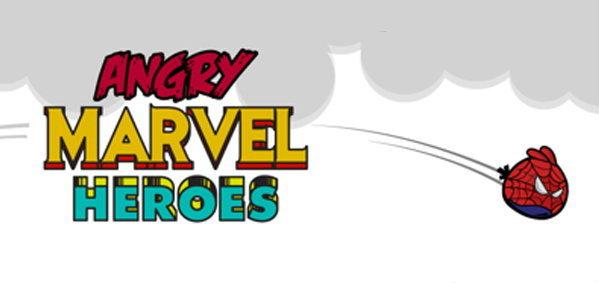 เมื่อ Angry Birds ไปป่วนโลกฮีโร่ของ Marvel!